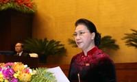 阮氏金银:继续革新国会活动并提高其质量