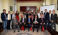 2018至2021年任期旅居意大利越南企业家协会第二次代表大会举行