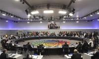 20国集团峰会达成共识并发表联合声明