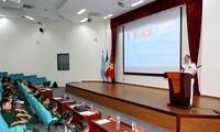 越南为参加联合国维和行动的工兵队做积极准备