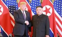 特朗普和金正恩出席在河内举行的第二次美朝首脑会晤回顾