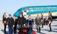 越南国会主席阮氏金银对法国进行正式访问