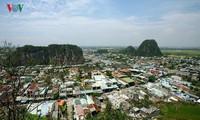 五行山——旅游城市岘港的象征