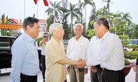 Party leader Nguyen Phu Trong pays working visit to Dong Nai province
