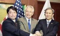 Japan, US, S Korea to curb N. Korean nuclear, missile development