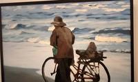 Artist Pham Luan's exhibition opens at the Vietnam Museum of Arts