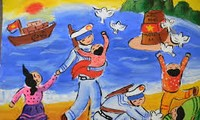 Inspiring Vietnamese children's love for national sea and islands