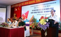 Workshop reviewing Vietnam's victory in the Tonkin Gulf Event convenes