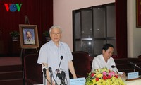 Party General Secretary Nguyen Phu Trong pays a working visit to Can Tho province