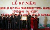 20th founding anniversary of Vietnam Coal Mineral Industries Group marked