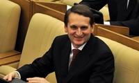 Russia's State Duma Chairman to visit Vietnam