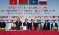 Vietnam-Customs Union FTA negotiation concludes