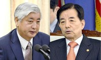 RoK, Japan set time for defense ministers' talks