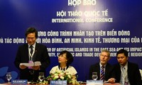 Int'l conference: artificial islands' impacts in East Sea