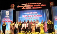 Ton Duc Thang award inspires creativity among workers