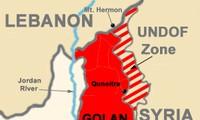 Israel strike Syrian targets in Golan Heights