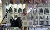 Mecca crane collapse won't affect Hajj pilgrimage