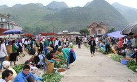 Market sessions in Ha Giang