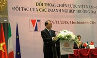 Vietnam-Italy's strategic dialogue opens in HCMC