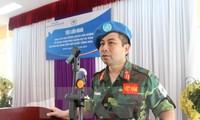 Vietnam, China share experience on UN peacekeeping activities