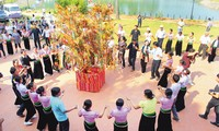 Xoe dancing, Kin Pang Then festival recognized as intangible cultural heritage