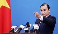 Vietnam resolutely demands China stop violating Vietnam's sovereignty