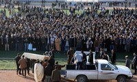 Islamic State group claims Libya police bomb attack