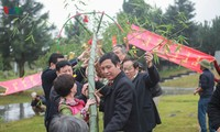 Spring festivals in Vietnam Ethnic Culture Village