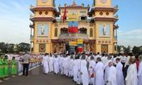 Cao Dai Church accompanies national development