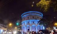 The Netherlands funds Hang Dau water tower's lighting project