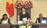 National Assembly Chairwoman inspects electoral preparations in Hai Duong