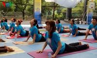 Da Nang, HCM City celebrate International Yoga Day