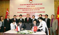 Vietnam, Singapore strengthen ties