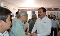 President Tran Dai Quang meets voters from Ho Chi Minh city