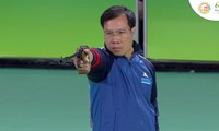 Vinh grabs silver at men's 50m pistol in Rio