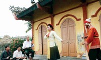Khuoc village in Thai Binh province popularizes traditional Cheo theater