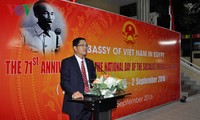 Vietnamese embassies abroad hold celebrations of the 71st anniversary of Vietnam's National Day