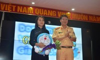 Safety traffic contests for school children