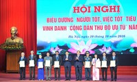 Good people good deeds and outstanding citizens of Hanoi honored