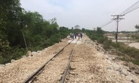 North-South railway resumes operation