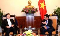 Deputy Prime Minister Pham Binh Minh receives Iranian Ambassador