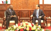 President Tran Dai Quang receives WB Country Director in Vietnam