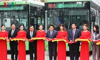 Bus Rapid Transit operates on Kim Ma-Yen Nghia route, Hanoi