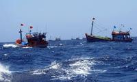 Fishermen launch fishing season in Truong Sa's traditional fishing area