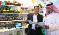 Promoting Vietnamese green farm produce at Gulfood Fair