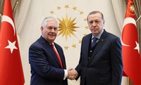 Tension between Turkey and the US prior to State Secretary Tillerson's visit