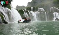 Ban Gioc Waterfall - the largest natural waterfall in Southeast Asia