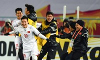 Millions of Vietnamese football fans celebrate U23 team's victory at AFC Championship