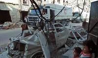 UN aid reaches East Ghouta