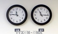 North Korea adjusts time zone to match South
